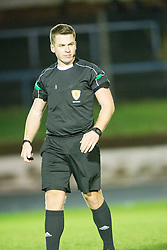 Ref Grant Irvine. Cowdenbeath 3 v 4 Forfar Athletic, Scottish Football League Division Two game played 17/12/2016 at Central Park.