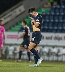 Falkirk's Ruben Sammut at the end. Falkirk 0 v 1 Ayr United, Scottish Championship game played 3/11/2018 at The Falkirk Stadium.