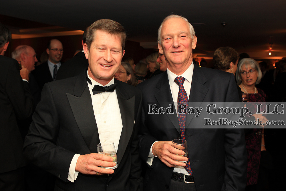 David Wilding-Davies and Russell Smith at the 2009 Canadian Eventing Hall of Fame Gala in Toronto, Ontario.