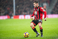 Bournemouth midfielder Ryan Fraser (24) during the Premier League match between Bournemouth and Crystal Palace at the Vitality Stadium, Bournemouth, England on 31 January 2017. Photo by Sebastian Frej.