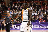 Solo DIABATE - 19.01.2015 - Gravelines Dunkerque / Strasbourg - 17e journee Pro A<br /> Photo : Alain Christy / Icon Sport