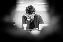 """Potenza (PZ) 15.01.2014 Italy - Susanna Camusso, leader della Cgil, ospite a Potenza per un convegno dal titolo """"Conoscenza, Giovani, Lavoro: scuola università e ricerca per il futuro della Basilicata"""". Nella Foto: Susanna Camusso. Foto Giovanni Marino"""