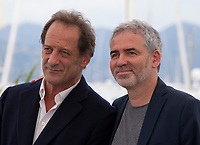 Actor Vincent Lindon and Director Stéphane Brize at the En Guerre (In War) film photo call at the 71st Cannes Film Festival, Wednesday 16th May 2018, Cannes, France. Photo credit: Doreen Kennedy