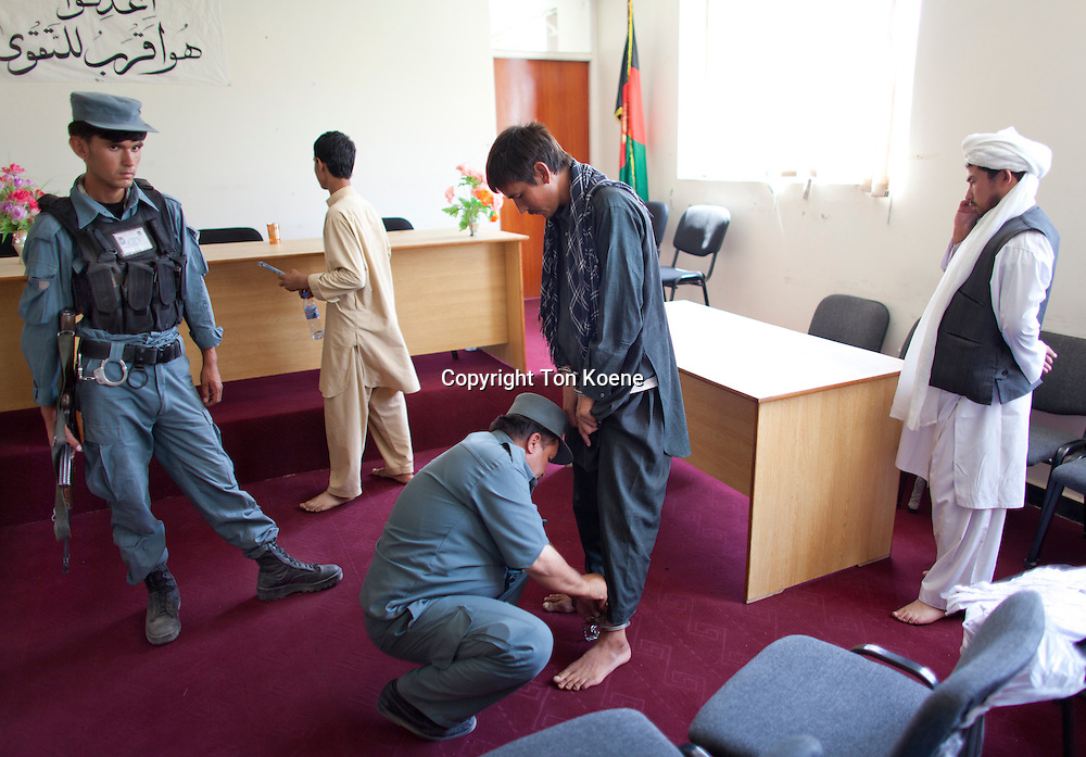 A murderer is convicted to 16 years imprisonment in Afghanistan.