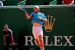 April 19, 2018 - Monaco - Tennis - Monaco - Jean Leonard Struff Allemagne (Credit Image: © Panoramic via ZUMA Press)