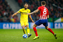 November 6, 2018 - Madrid, MADRID, SPAIN - Omer Toprak of Borussia during the UEFA Champions League football match between Atletico de Madrid and Borussia Dormund on November 06th, 2018 at Estadio Wanda Metropolitano in Madrid, Spain. (Credit Image: © AFP7 via ZUMA Wire)