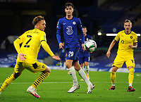 Football - 2020 / 2021 EFL Cup - Round 3 - Chelsea vs Barnsley <br /> <br /> Kai Havertz of Chelsea, at Stamford Bridge.<br /> <br /> COLORSPORT/ANDREW COWIE