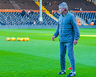 Tim Flowers of Fulham before the Sky Bet Championship match at Craven Cottage, London<br /> Picture by Richard Brooks/Focus Images Ltd 07947656233<br /> 02/01/2017