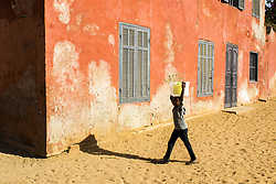 January 4, 2016 - Dakar, Goree island, Senegal - Gorée was a famous destination for people interested in the Atlantic slave trade (Credit Image: © Dani Salv/VW Pics via ZUMA Wire)