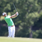 Brandt Snedeker, USA, in action during the final round of the Travelers Championship at the TPC River Highlands, Cromwell, Connecticut, USA. 22nd June 2014. Photo Tim Clayton