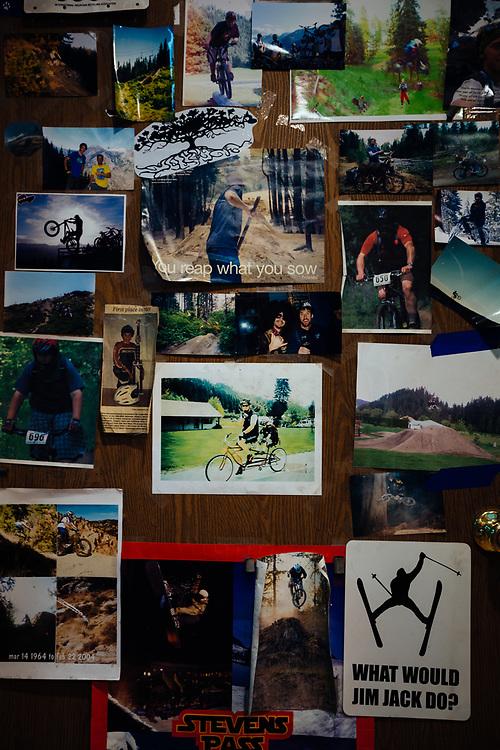 Inside the Das Rad Haus bike shop in Leavenworth, Washington.
