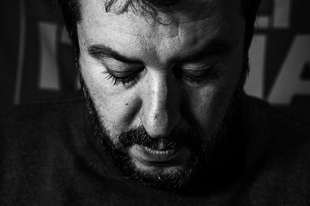 Foto Piero Cruciatti / LaPresse<br /> 18/11/2019 - Modena, Italia<br /> News<br /> Matteo Salvini visita Modena <br /> Nella foto: Matteo Salvini visita Modena <br /> Foto Piero Cruciatti / LaPresse<br /> 18/11/2019 - Modena, Italia<br /> News<br /> Matteo Salvini visits Modena <br /> In the photo: Matteo Salvini visits Modena