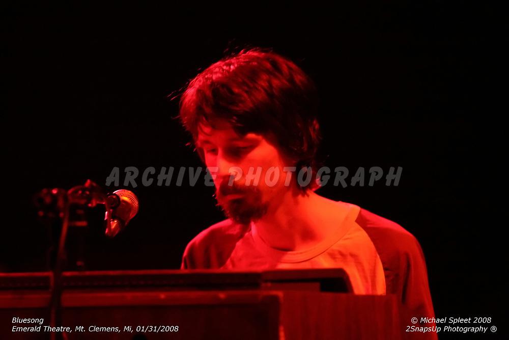 MT. CLEMENS, MI, THURSDAY, JAN. 31, 2008: Bluesong, Ross Westerbur at Emerald Theatre, Mt. Clemens, MI, 01/31/2008. (Image Credit: Michael Spleet / 2SnapsUp Photography)