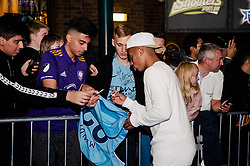 Gabriel Jesus attends the World Premiere of Prime Video series. All or Nothing: Manchester City, at The Printworks in Manchester ahead of its release on Friday.
