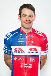Gregor Gazvoda during photo session of Cycling Team KK Adria Mobil, on January 22, 2018 in Novo Mesto, Novo Mesto, Slovenia. Photo by Vid Ponikvar / Sportida