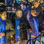 NLD/Amstelveen/20181222 - SBS Kerstparade 2018, Bart Ettekhoven, Winston Gerstanowitz en Guido den Aantrekker