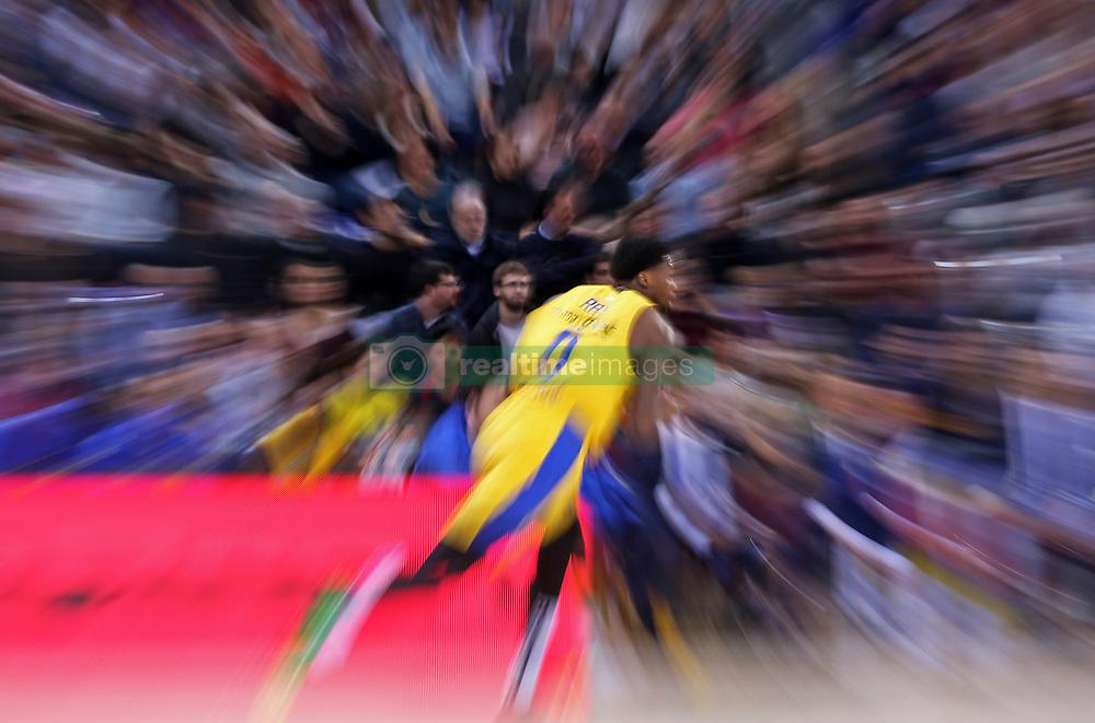 November 1, 2018 - Barcelona, Catalonia, Spain - Hendrick Ray during the match between FC Barcelona and Maccabi Tel Aviv, corresponding to the week 5 of the Euroleague, played at the Palau Blaugrana, on 01 November 2018, in Barcelona, Spain. (Credit Image: © Joan Valls/NurPhoto via ZUMA Press)