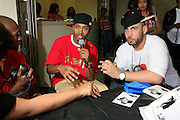 """Terrence J and DJ Drama at the Hip-Hop Summit's """"Get Your Money Right"""" Financial Empowerment International Tour draws hip-hop stars and financial experts to teach young people about financial literacy held at The Johnson C. Smith University's Brayboy Gymnasium on April 26, 2008..For the past three years, hip-hop stars have come out around the country to give back to their communities. Sharing personal stories about the mistakes they've made with their own finances along the way, and emphasizing the difference between the bling fantasy of videos and the realities of life, has helped young people learn the importance of financial responsibility while they're still young. With the recent housing market crash in the United States affecting the economy, jobs, student loans and consumer confidence, young people are eager to receive sound financial advice on how to best manage their money and navigate through this volatile economic environment.."""