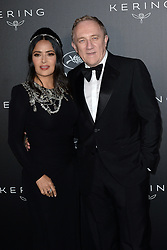 Mademoiselle Agnes attends the Kering Women In Motion Awards during the 72nd annual Cannes Film Festival in Cannes, France, on May 19, 2019. 20 May 2019 Pictured: Salma Hayek and François-Henri Pinault attend the Kering Women In Motion Awards during the 72nd annual Cannes Film Festival in Cannes, France, on May 19, 2019. Photo credit: Favier/ELIOTPRESS / MEGA TheMegaAgency.com +1 888 505 6342