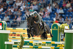 Gaudiano Emanuele, (ITA), Admara 2<br /> Team completion and 2nd individual qualifier<br /> FEI European Championships - Aachen 2015<br /> © Hippo Foto - Dirk Caremans<br /> 20/08/15