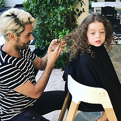 "Rachel Zoe releases a photo on Instagram with the following caption: ""Big night tonight... huge. \ud83d\ude48My @joeymaalouf gave #kaiusjagger his very first haircut \ud83d\udc94\ud83d\ude2a\ud83d\udc87\u200d\u2642\ufe0f\u2702\ufe0f\ud83d\udc97#thisis3 #byebyehair xoRZ"". Photo Credit: Instagram *** No USA Distribution *** For Editorial Use Only *** Not to be Published in Books or Photo Books ***  Please note: Fees charged by the agency are for the agency's services only, and do not, nor are they intended to, convey to the user any ownership of Copyright or License in the material. The agency does not claim any ownership including but not limited to Copyright or License in the attached material. By publishing this material you expressly agree to indemnify and to hold the agency and its directors, shareholders and employees harmless from any loss, claims, damages, demands, expenses (including legal fees), or any causes of action or allegation against the agency arising out of or connected in any way with publication of the material."