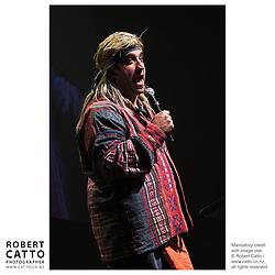 Steve Wrigley at the Wellington Region Gold Awards 07 at TSB Arena, Wellington, New Zealand.