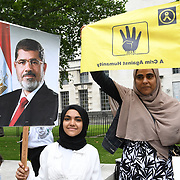 Protest against British Government support Dictatorship in Egypt