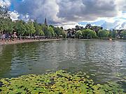 Bulwar nad Jeziorem Drwęckim w Ostródzie