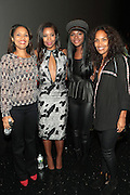 September 20, 2012- New York, New York:  (L-R) Media Personality/Writer Cori Murray, Actress Gabrielle Unioin, Actress Tika Sumpter and  Television Writer/Producer Mara Brock Akil attend the 2012 Urbanworld Film Festival Opening night premiere screening of  ' Being Mary Jane ' presented by BET Networks held at AMC 34th Street on September 20, 2012 in New York City. The Urbanworld® Film Festival is the largest internationally competitive festival of its kind. The five-day festival includes narrative features, documentaries, and short films, as well as panel discussions, live staged screenplay readings, and the Urbanworld® Digital track focused on digital and social media. (Terrence Jennings)