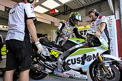 September 8, 2017 - Misano Adriatico, Italy - Cal Crutchlow (LCR Honda)   start from pit during free practice for Britsh  MotoGP at Misano World circuit (Credit Image: © Gaetano Piazzolla/Pacific Press via ZUMA Wire)