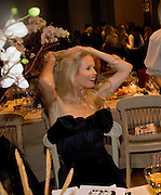 CLAUDIA SCHIFFER, Chaos Point: Vivienne Westwood Gold Label Collection performance art catwalk show and auction in aid of the NSPCC. Banqueting House. London. 18 November 2008<br /> *** Local Caption *** -DO NOT ARCHIVE -Copyright Photograph by Dafydd Jones. 248 Clapham Rd. London SW9 0PZ. Tel 0207 820 0771. www.dafjones.com