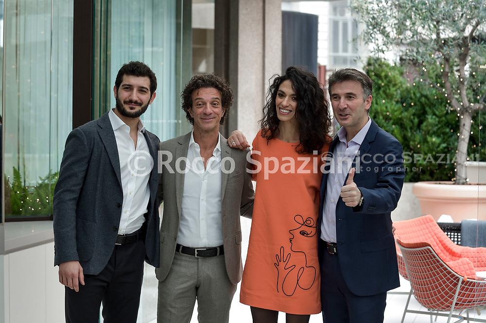 """Ficarra e Picone durante il photocall del film """"Il primo natale"""""""