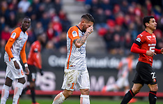 Stade Rennais vs Montpellier Herault - 20 Jan 2019