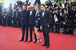 May 23, 2017 - Cannes, Provence-Alpes-Cote-D-Azur, France - Pierre Deladonchamps, Andre Techine, Celine Sallette et Gregoire Leprince-Ringuet sur le tapis rouge pour la projection du film MISE A MORT DU CERF SACRE lors du soixante-dixième (70ème) Festival du Film à Cannes, Palais des Festivals et des Congres, Cannes, Sud de la France, lundi 22 mai 2017. Philippe FARJON / VISUAL Press Agency (Credit Image: © Visual via ZUMA Press)