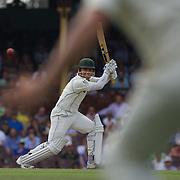 Kamran Akmal batting during the Australia V Pakistan 2nd Cricket Test match at the Sydney Cricket Ground, Sydney, Australia, 6 January 2010. Photo Tim Clayton