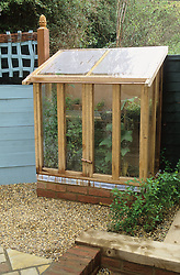 Small upright coldframe / mini greenhouse