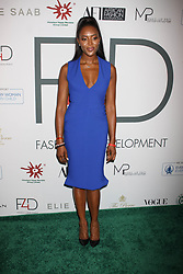 Naomi Campbell at Fashion 4 Development's 7th Annual First Ladies Luncheon in New York City.