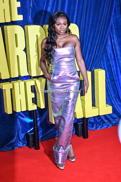 """Patricia Bright attended """"The Harder They Fall"""" Opening Night Gala - 65th BFI London Film Festival, Southbank Centre, London, UK. 6 October 2021."""