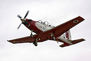 Israeli Air force Flight Academy Beechcraft T-6A Texan II in flight