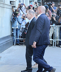 Harvey Weinstein Turns Himself In At NYPD Precint - 25 May 2018