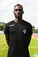 Alassane Ndiaye of Clermont during the friendly match between Montpellier Herault and Clermont foot on July 19, 2017 in Millau, France. (Photo by Philippe Le Brech/Icon Sport)