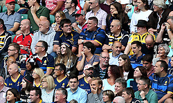 Worcester Warriors fans at Twickenham for the London double header - Mandatory by-line: Robbie Stephenson/JMP - 03/09/2016 - RUGBY - Twickenham - London, England - Saracens v Worcester Warriors - Aviva Premiership London Double Header