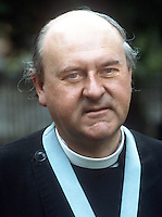 Very Rev Victor Griffin, Church of Ireland, Anglican, Dean, St Patrick's Cathedral, Dublin, Rep of Ireland, 197805000176.<br /> <br /> Copyright Image from Victor Patterson, 54 Dorchester Park, <br /> Belfast, UK, BT9 6RJ<br /> <br /> t1: +44 28 9066 1296 (from Rep of Ireland 048 9066 1296)<br /> t2: +44 28 9002 2446 (from Rep of Ireland 048 9002 2446)<br /> m: +44 7802 353836<br /> <br /> e1: victorpatterson@me.com<br /> e2: victorpatterson@gmail.com<br /> <br /> www.victorpatterson.com<br /> <br /> Please see my Terms and Conditions of Use at www.victorpatterson.com. It is IMPORTANT that you familiarise yourself with them.<br /> <br /> Images used on the Internet must be visibly watermarked i.e. © Victor Patterson within the body of the image and copyright metadata must not be deleted. Images used on the Internet have a size restriction of 4kbs and will be chargeable at current NUJ rates unless advised otherwise.<br /> <br /> This image is only available for the use of the download recipient i.e. television station, newspaper, magazine, book publisher, etc, and must not be passed on to any third party. It is also downloaded on condition that each and every usage is notified within 7 days to victorpatterson@me.com<br /> <br /> The right of Victor Patterson to be identified as the author is asserted in accordance with The Copyright Designs And Patents Act (1988).
