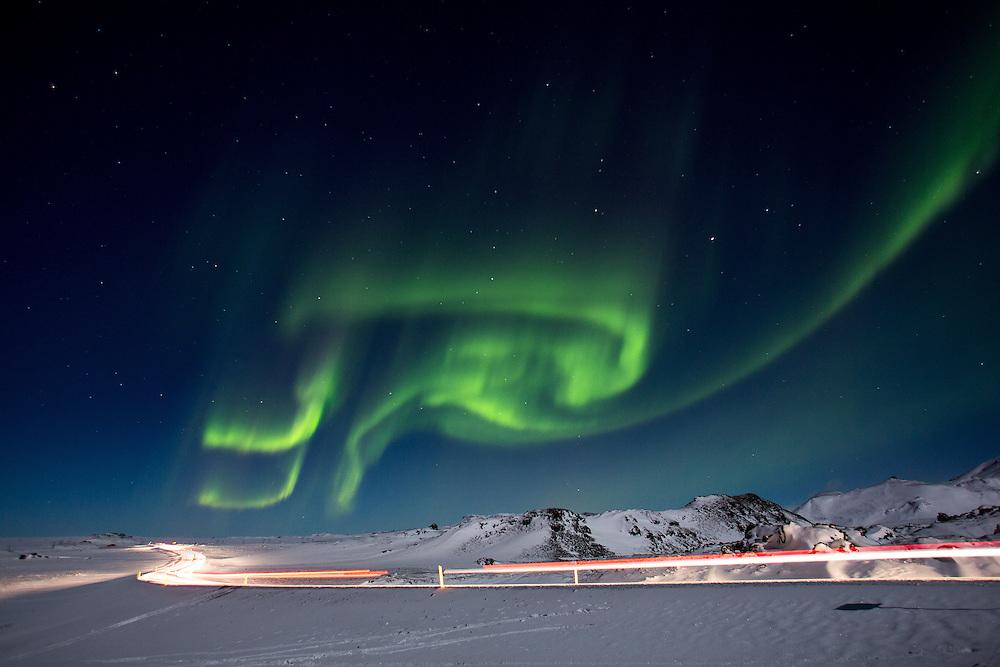 One of the amazing, Icelandic sky show.