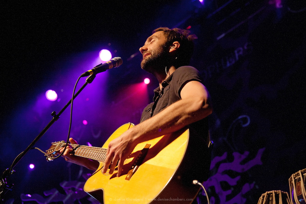 Ben Christophers performs at the Ogden Theatre in Denver, Colorado.  11 June 2010.  Photo by Denise Chambers