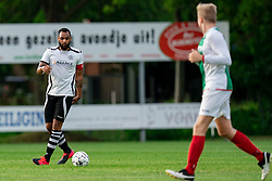 Eddy Vorm of VV Maarssen in action. Friendly match against EDO and Maarssen lost the home match with 3-0 on 20 August 2020 in Maarssen.