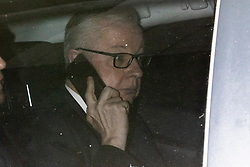 © Licensed to London News Pictures. 24/11/2019. London, UK. Chancellor of the Duchy of Lancaster Michael Gove arrives at the BBC. Later he will appear on the Andrew Marr Show. Photo credit: George Cracknell Wright/LNP