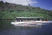 Smith's Boat, Wailua River, Kauai, Hawaii<br />