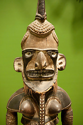 Uli figure drom South Seas on display at Ethnological Museum in Dahlem in Berlin Germany