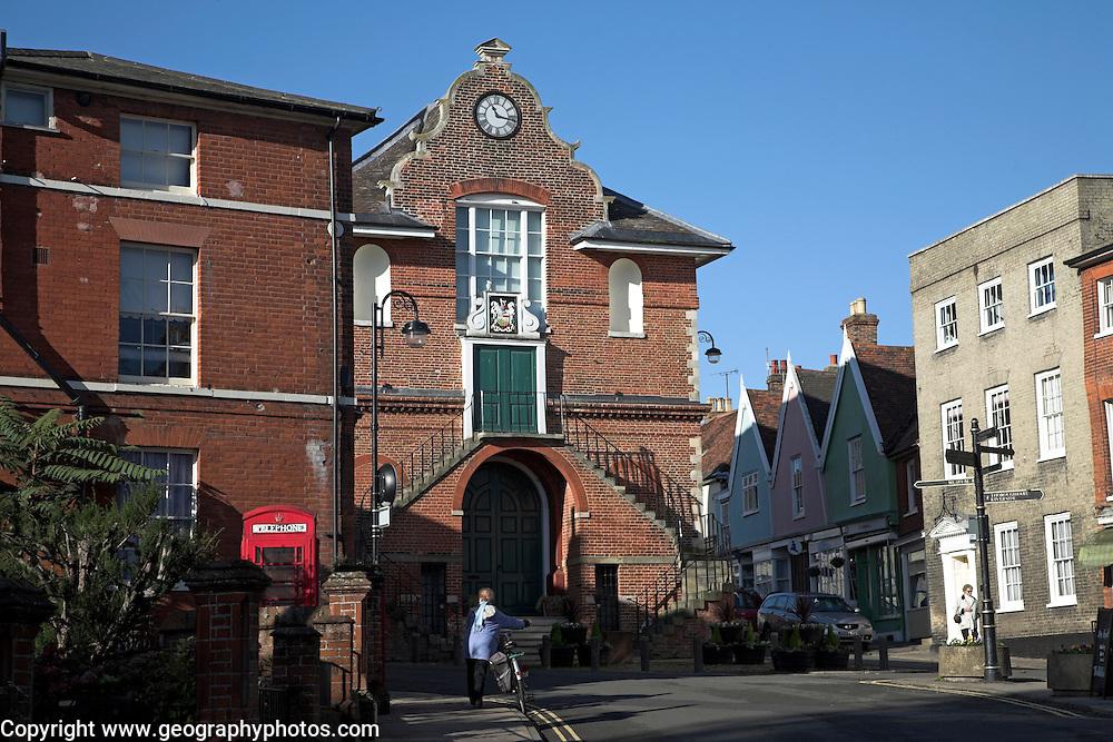 Shire Hall, Market Hill, Woodbridge, Suffolk, England